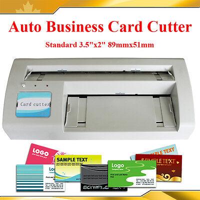 Full Bleed 3.5x2.0 Standard Business Name Card Paper Cutter Slitter 10ups