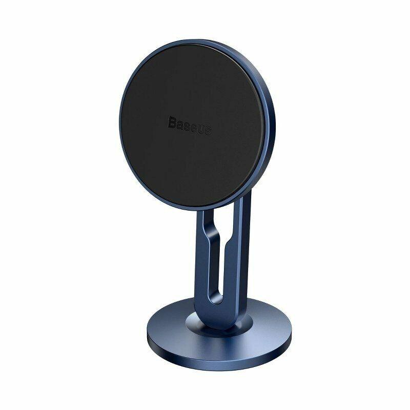 Baseus Supporto Auto Magnetico per Smartphone - Porta Telefono con Magnete Blu