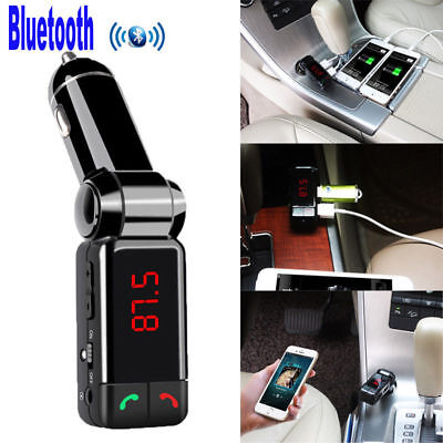 Auto-Ladegerät-Bluetooth Car Kit MP3-Player FM-Transmitter- Karte Festplatte USB