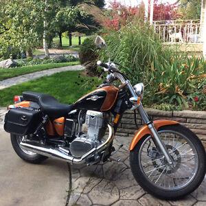 Great bike for sale.  2012 Suzuki Boulevard S40 (650cc)