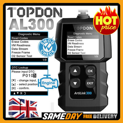 UK Car Fault OBD2 CAN BUS Scanner Diagnostic Code Reader Reset Tool VW Audi Seat