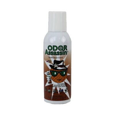 Odor Assassin 127398 Vaccum Cleaner Vanilla Bean 8 oz Can