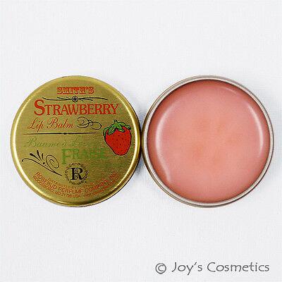 1 ROSEBUD Smith's Strawberry Lip Balm Tin  0.8 oz RB - SLB  *Joy's cosmetics*