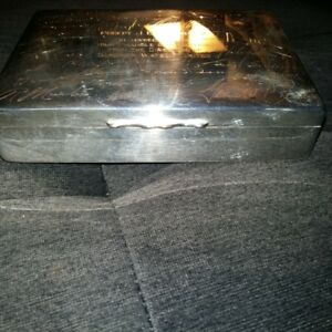 Aristocrat Silver Plated Cigarette / Cigar Boxes by the Harman B
