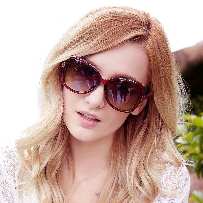 Women's Fashion Sun Glasses Polarized Polaroid Driving Polyc
