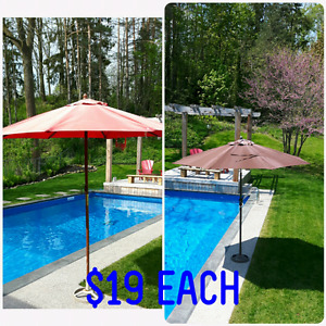 Patio Umbrella with Stand *Delivery Available*