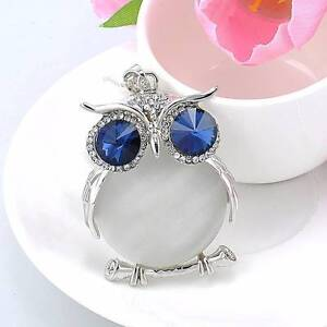 Silver and white Owl necklaces - New. Gateshead Lake Macquarie Area Preview
