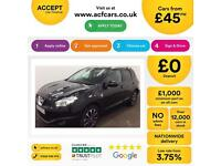 Nissan Qashqai 1.6 2WD N-TEC+ FROM £45 PER WEEK!