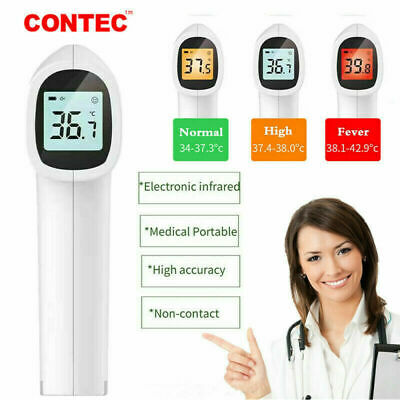 Digital Infrared Thermometer Non-contact Forehead Baby Adult Temperature Gun Us