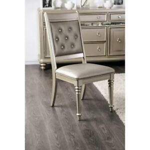 Crystal Upholstered Dining Chair - 2 available