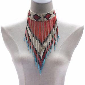 Collier africain style boheme