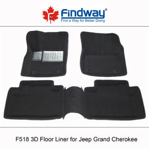All weather 3D Car Floor Liner for 2016-2019 Jeep Grand Cherokee