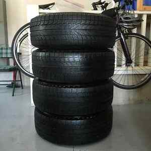 USED Winter Tires for Sale - Michelin Latitude X-Ice Xi2 Stratford Kitchener Area image 1