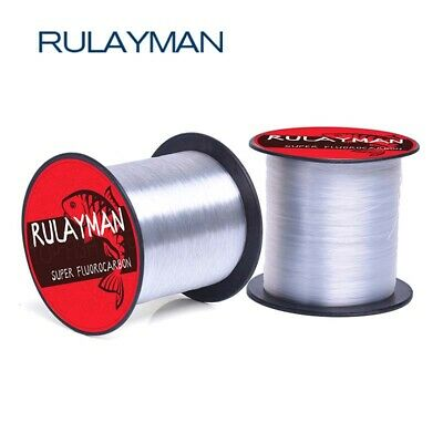 RuLayMan Best Price JAPAN 100% Fluorocarbon fishing line 300m 4lb-30lb