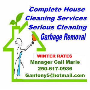 WINTER CLEANING RATES - GARBAGE REMOVAL