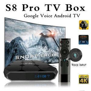 S8 pro android tv box