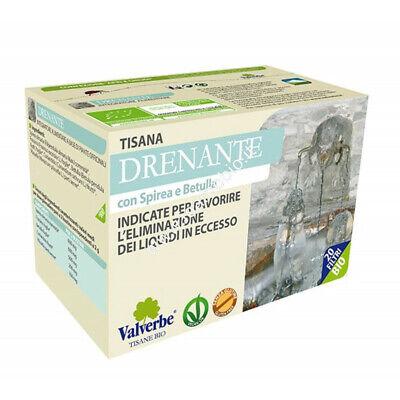 Drenante 20 filtri - Valverbe Tisana bio - Eliminazione liquidi in eccesso