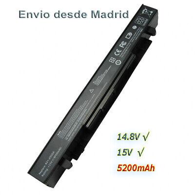 BATERÍA PARA ORDENADOR PORTÁTIL ASUS F550C   X550C A41-X550A 5200mAH 14.8V 8C