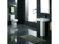 +SALE+ K-Vit Embrace Toilet & Full Pedestal Basin Package