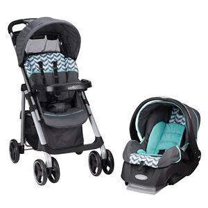 Brand New Even Flow Vive Stroller/Car Seat