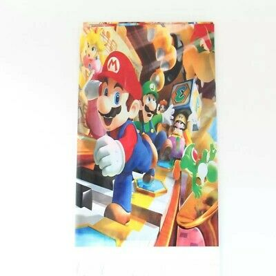 Mario bros plastic Tablecloth 108 x 180cm kids Birthday party supplies