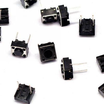 100pcs 664.3mm Tact Tactile Push Button Switch Dip-2pin