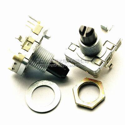 1pcs Rotary Encoder With Switch Ec16 Audio Digital Potentiometer 15mm Handle