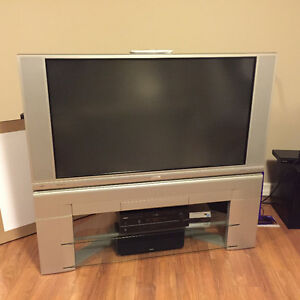 50 inch TV (1080p) with stand