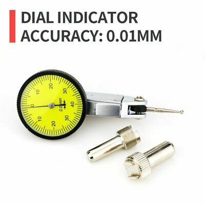 Dial Scale Gauge With Dovetail Rails 0-4 0.01mm Lever Indicator Measuring Tool