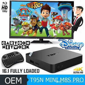 Android Tv Box** Kodi Ready*** Loaded with Cartoons