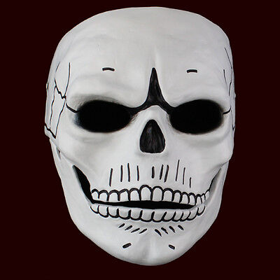 The Movie 007 Spectre Cosplay Full Face Skull Mask Resin Material Halloween Prop](The Movie Halloween Full Movie)