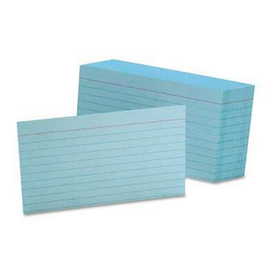 Oxford Ruled Index Cards 3 X 5 Blue 100pack 078787731011