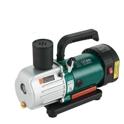 220v Double Stage Vacuum Pump 1.8cfm 14hp 187.5w Rotary Vane Degassing Machine