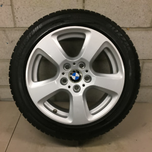 "17"" BMW RIMS with WINTER TIRES Bridgestone Blizzak 225/50/R17"
