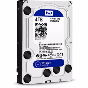 Disque dur Hard drive 4tb western digital blue