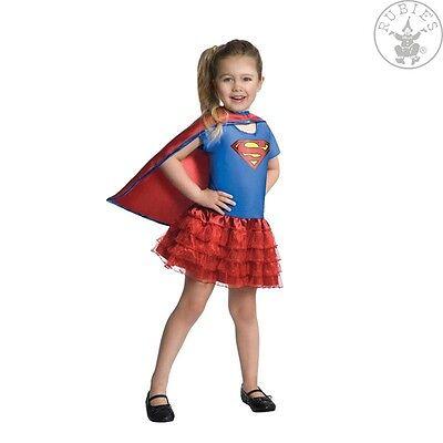 RUB 3887059 Lizenz Kinder Mädchen Kostüm Supergirl Heldin Held S 110 - 116