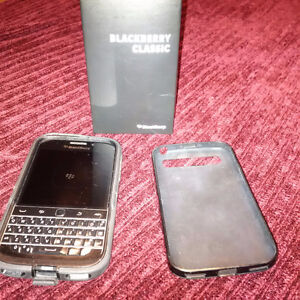 Blackberry Classic with Otter Box plus extra protective case