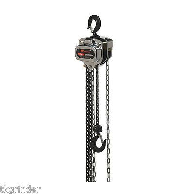 Ingersoll Rand Smb005-15-11v 1100 Lb Smb Silver Series Lever Chain Hoist