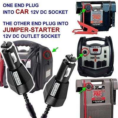 FAST DC CAR Charger adapter for Jump N Carry JNC660 JNC770 j
