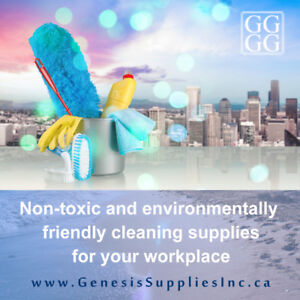 Cleaning Supplies delivered to your office Ontario Toronto