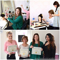 HAIR EXTENSION TRAINING OTTAWA | SAVE $300 OFF TUITION! SEPT 5TH
