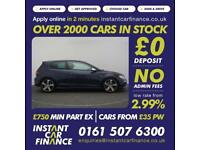 Volkswagen Golf 2.0 TSI(300ps)4X4(BMT )(s/s)DSG 2016MY R FROM £106 PW