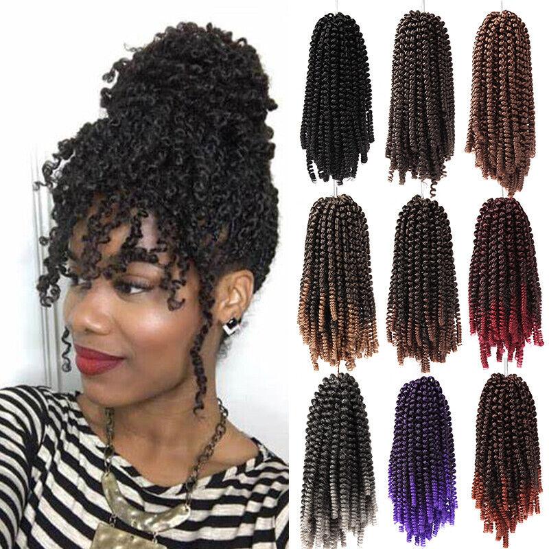 Pre Twisted Curly Spring Twist Braids