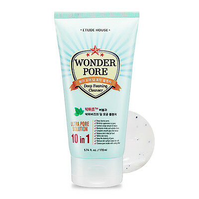 [ETUDE HOUSE] Wonder Pore Deep Foaming Cleanser 170ml / Sebum control