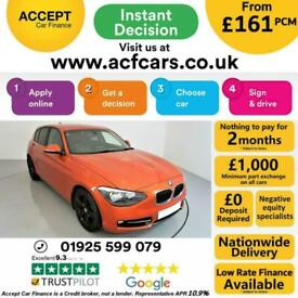 image for 2012 ORANGE BMW 116D 2.0 SPORT DIESEL MANUAL 5DR HATCH CAR FINANCE FR £161 PCM