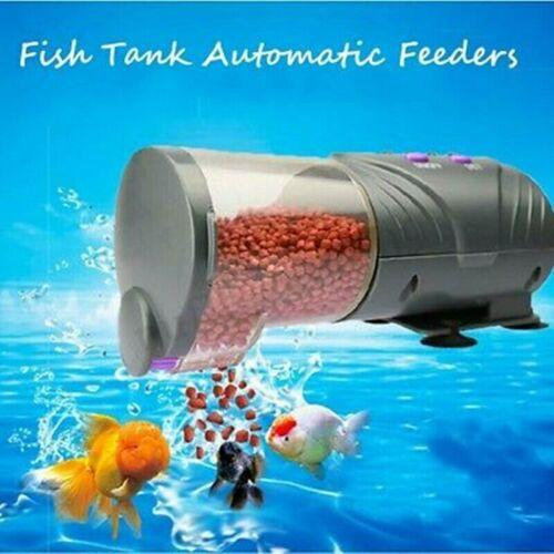 Automatik koi feeder Futterautomat Futter Fisch Aquarium Timer teich Pond Fish
