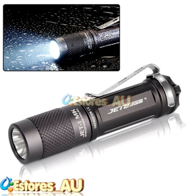 JETBeam JET-1 MK CREE XP-G2 LED 480 Lumens Waterproof Outdoor Flashlight Torch