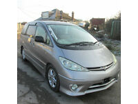 TOYOTA ESTIMA AERAS 2.4 PETROL AUTO 2004 LOW MILEAGE G EDITION 8 SEATERS
