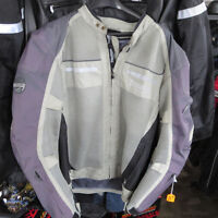 Triumph Mesh and Textile Motorcycle Jacket Only $100