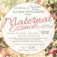 Pampered Maternity Photography Sessions